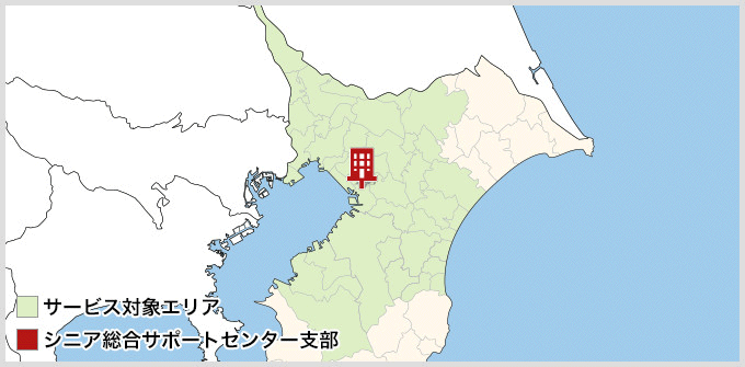 千葉県のMAP