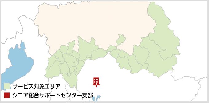岐阜県のMAP