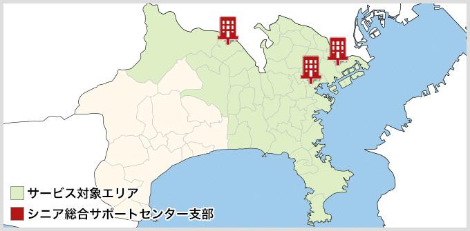 神奈川県のMAP
