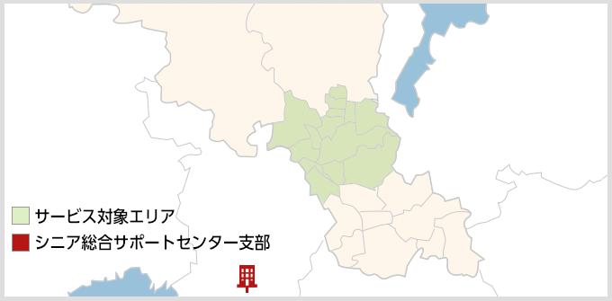 京都府のMAP