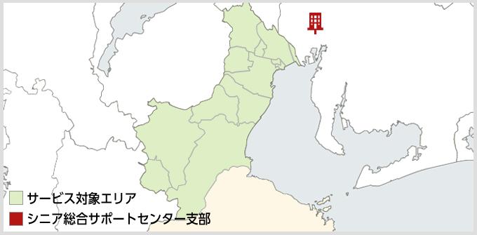 三重県のMAP