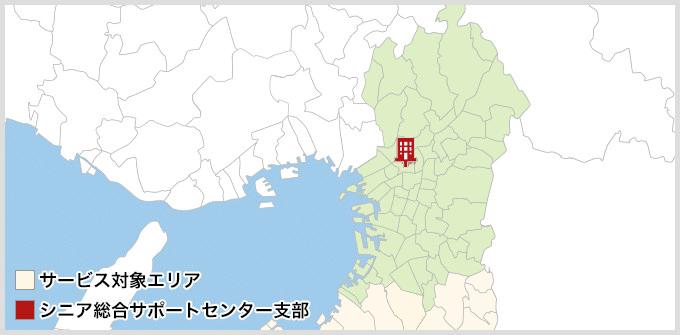 大阪府のMAP