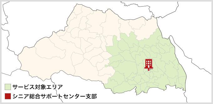 埼玉県のMAP