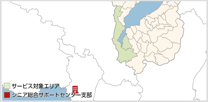 滋賀県のMAP