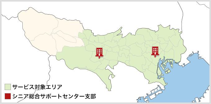 東京都のMAP