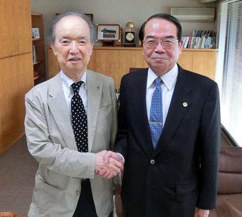 海部俊樹元内閣総理大臣